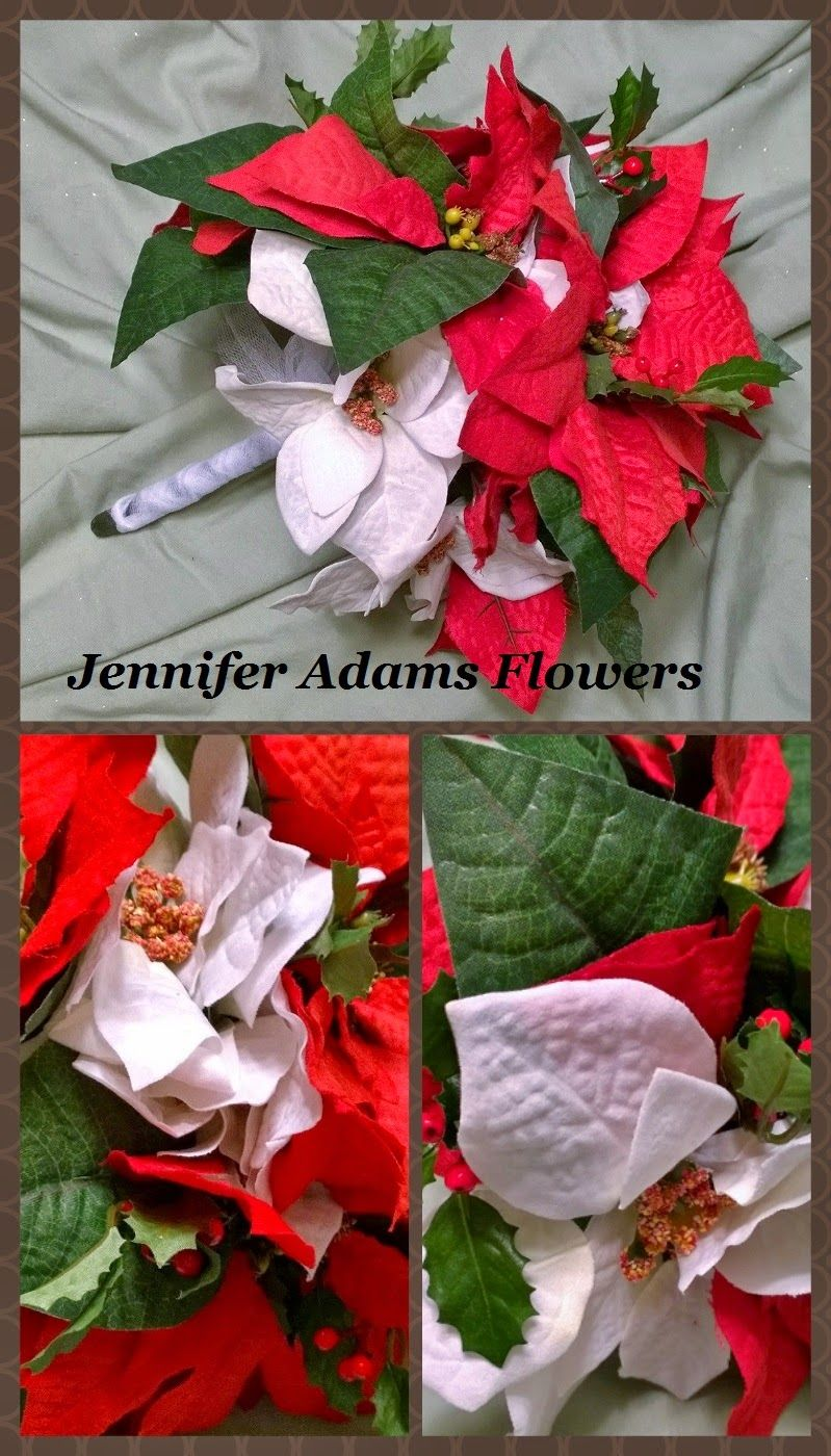 Jennifer Adams Flowers: Christmas Wedding Florals (17 Pc Package) 2014  Jenniferadamsflowers.blogspot.com