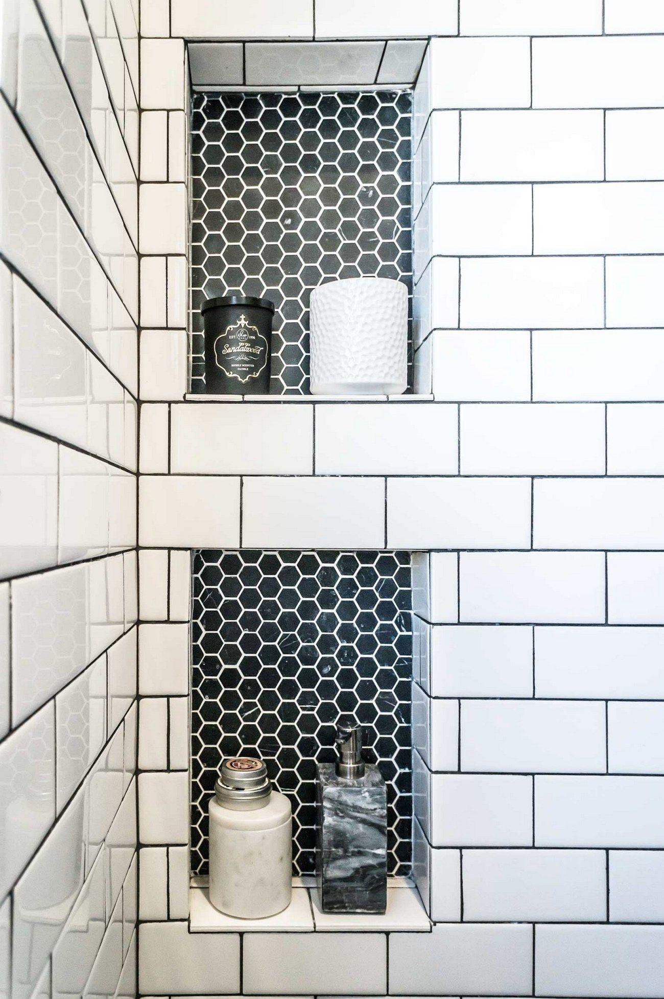 Faire Joint Faience Metro 75 bathroom tiles ideas for small bathrooms (55) | idée