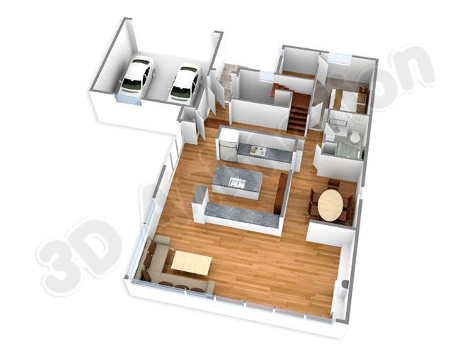 3D Floor Plans, 3D Floor Plan Designing, 3D Floor Rendering India ...