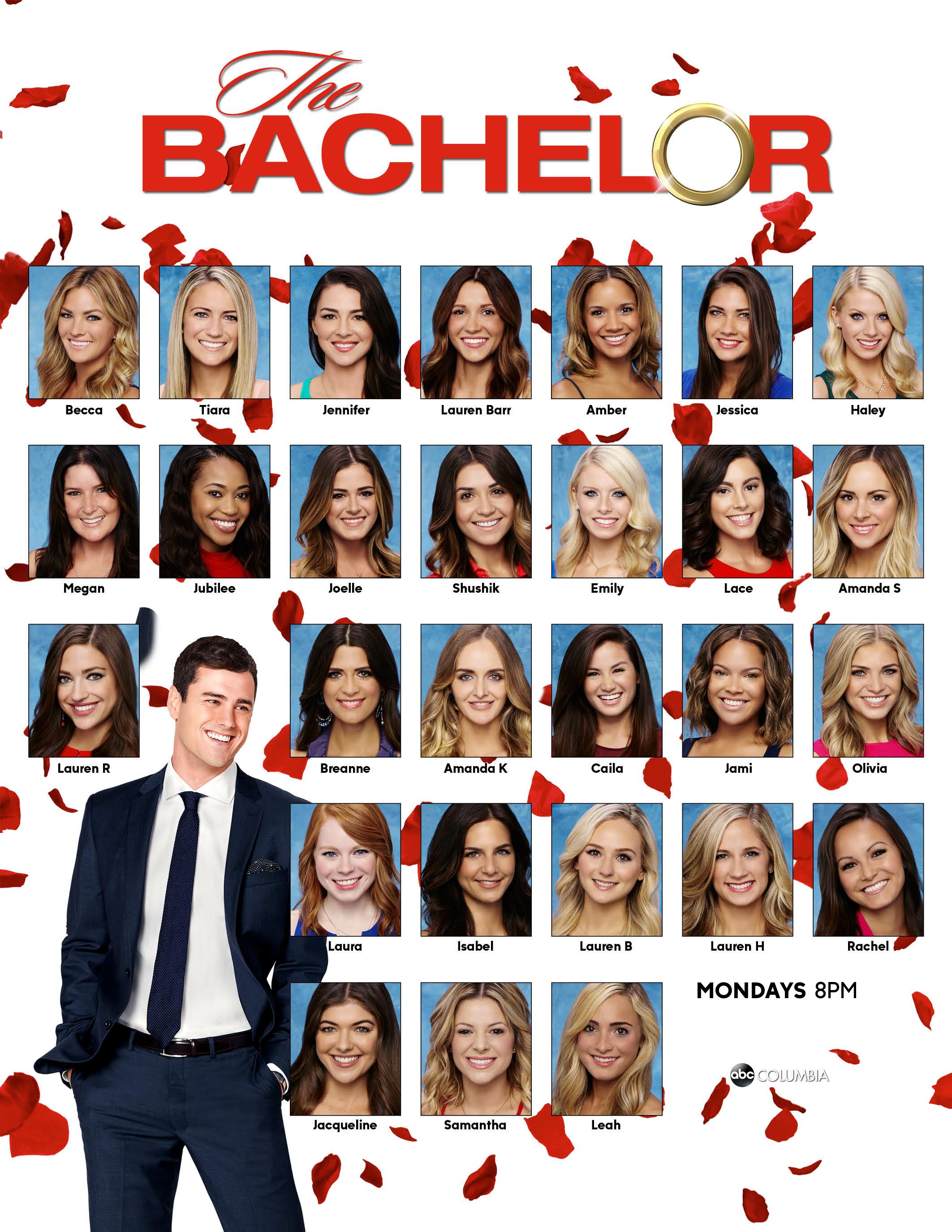 Meet The Bachelor 2016 Contestants TheBachelor Abccola