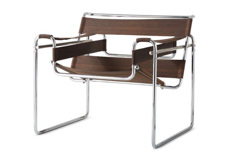 Marcel Breuer, Klubsessel B 3 (bekannt Als U201eWassilyu201c Sessel), 1925,  Sammlung Vitra Design Museum. (Foto: Vitra Design Museum)