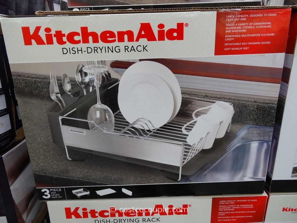 Kitchenaid 3 in 1 dish rack - Kitchenaid Dish Drying Rack 34 99 Quantity 1 Available At Costco
