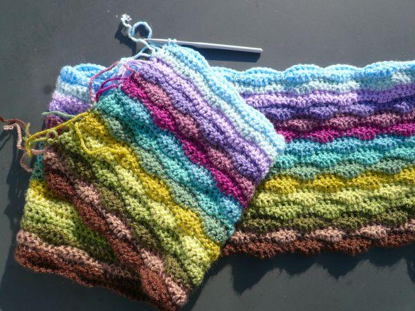 Moorland Blanket Cal Part 3 Knitted Blankets Crochet Crafts Blanket