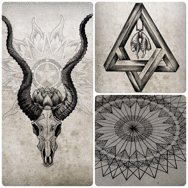 Tattoo Artwork by Mike Amanita