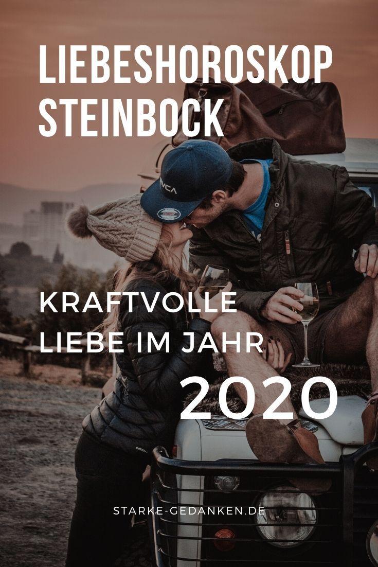 Singlehoroskop steinbock mann 2020
