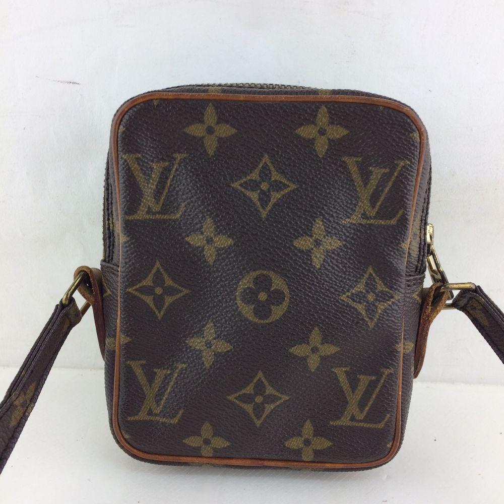 820fb91b391 Authentic Louis Vuitton Monogram Mini Danube Shoulder bag M45268 ...