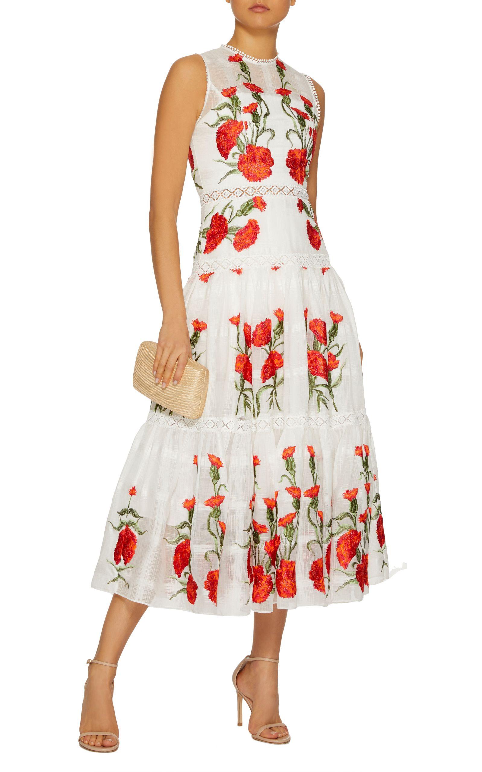 Leomie Midi Dress By Alexis Now Available On Moda Operandi Summer Dresses Beautiful Summer Dresses Lovely Dresses [ 2560 x 1598 Pixel ]