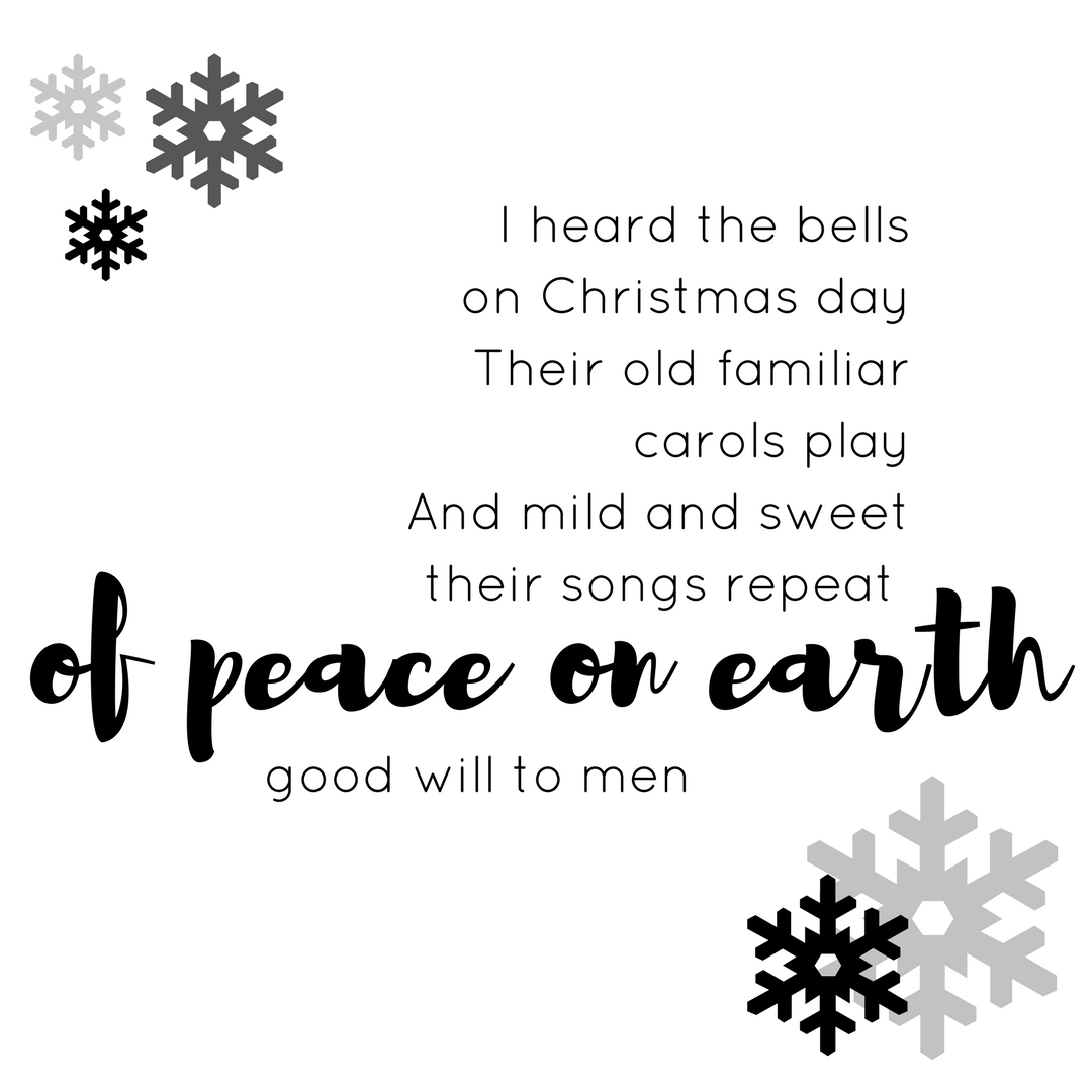 The sounds of Christmas are all around   Celebrating christmas