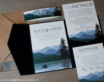 lake house themed wedding invitations - Google Search | wedding ...