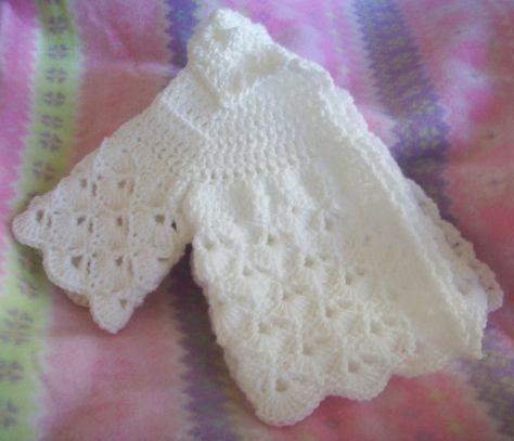Crochet libre suéter patrón de bebé