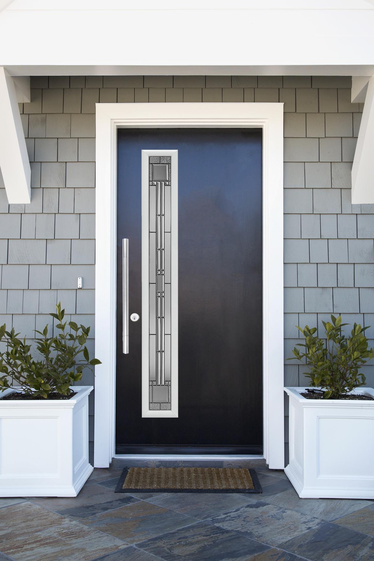 Mid Century Modern 1 Lite Exterior Doors Outdoor Decor Mid Century Modern