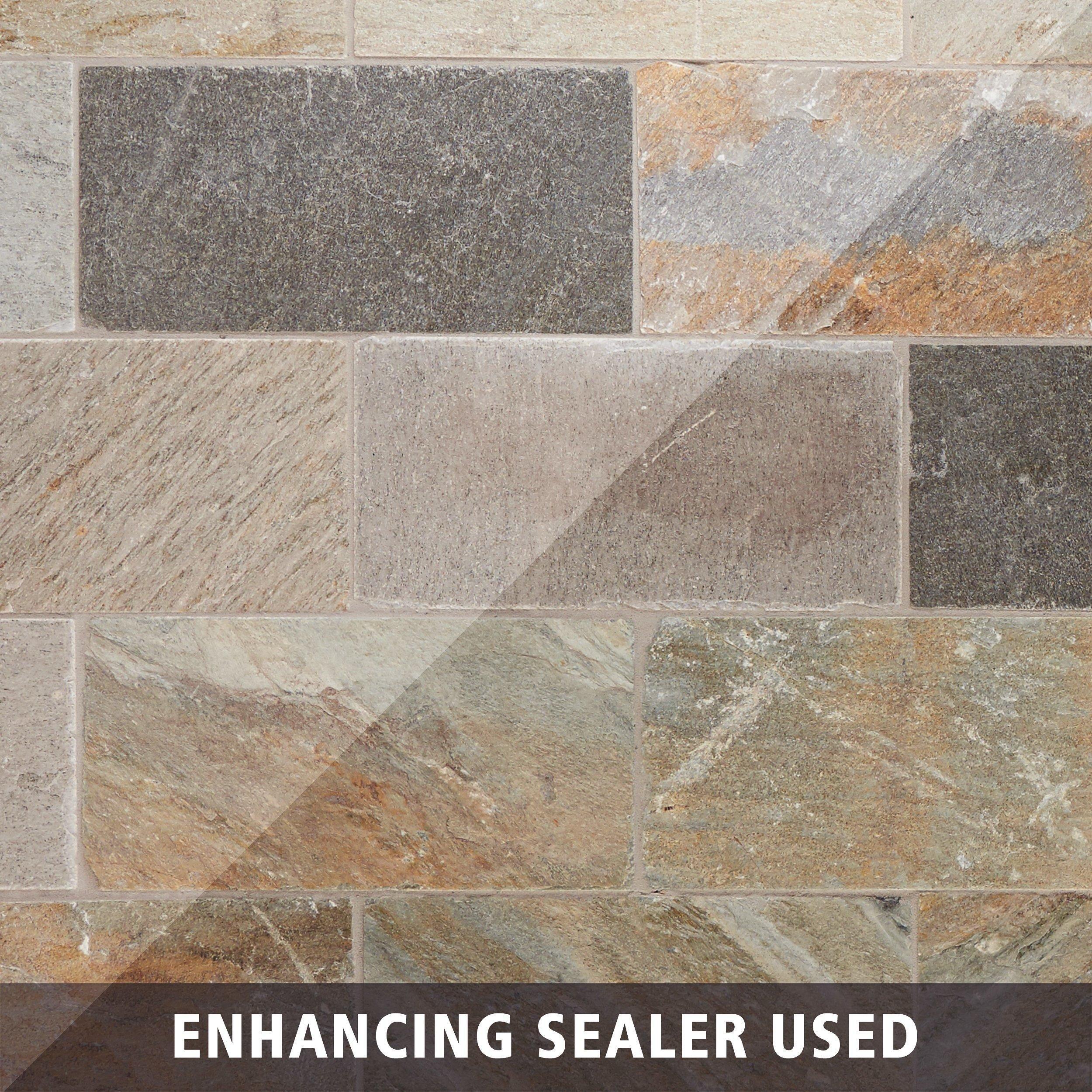 Andes Natural Quartzite Tile Floor