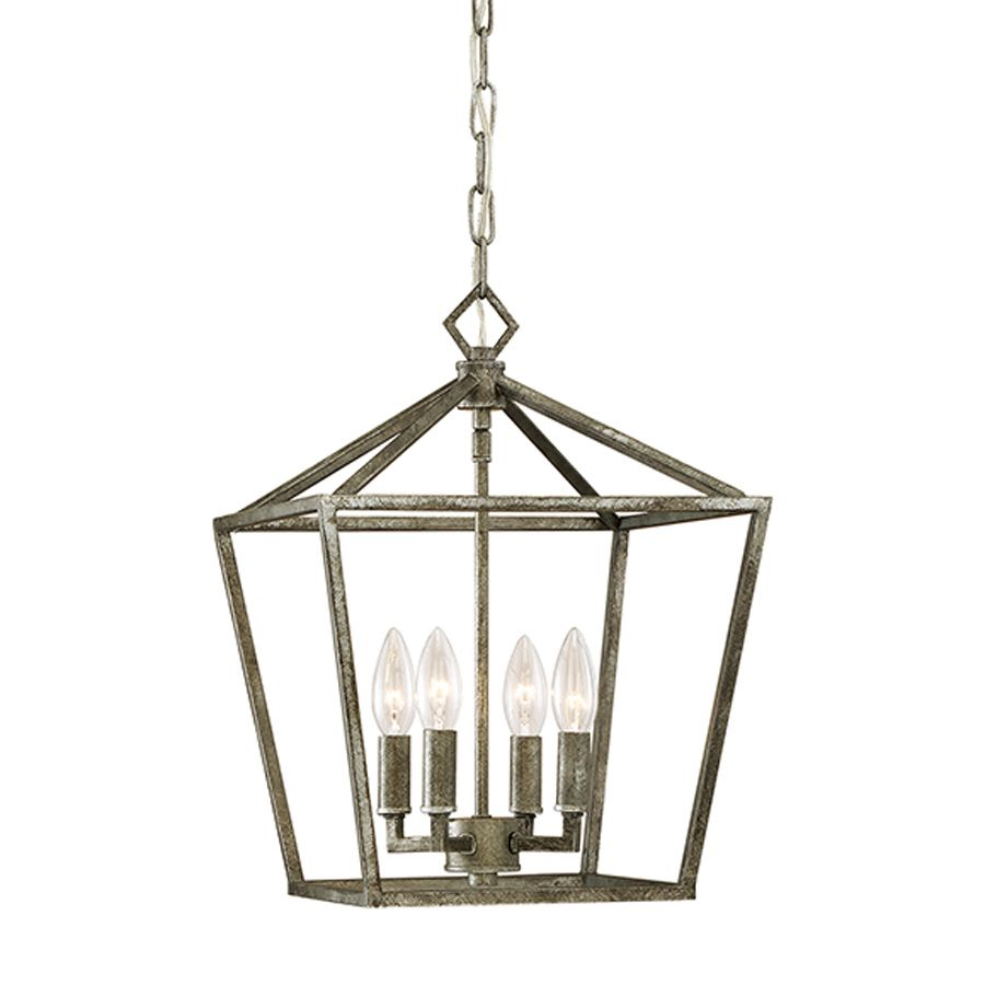 cage pendant lighting. Millennium Lighting 12-In Antique Silver Vintage Single Cage Pendant 3234-As