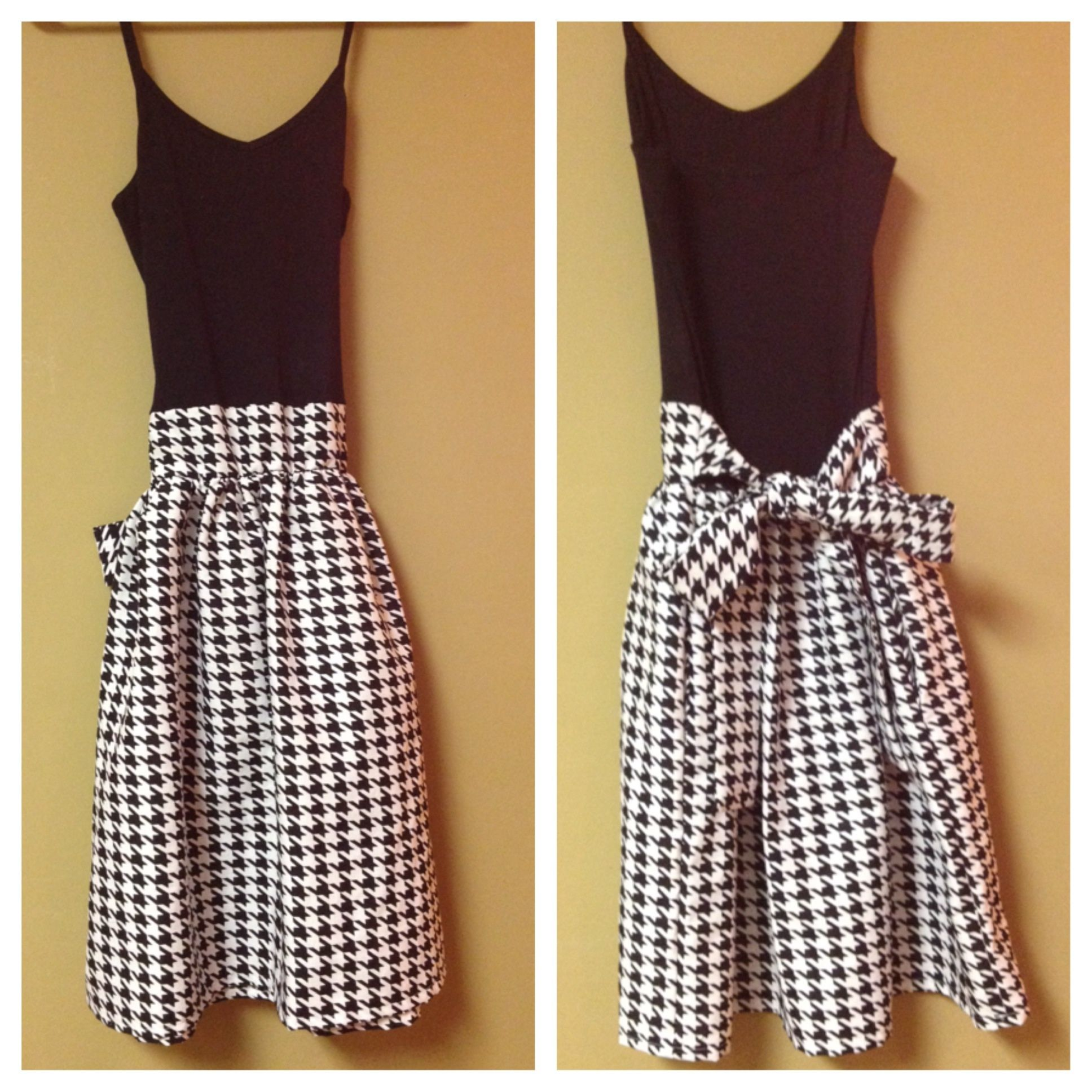 16248b0e93e Houndstooth dress with pockets! Pink Anchor Clothing Maternity and kid  sizes available.