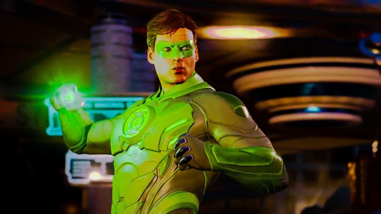 Injustice 2 Green Lantern Hal Jordan Green Lantern Hal Jordan Green Lantern Injustice 2
