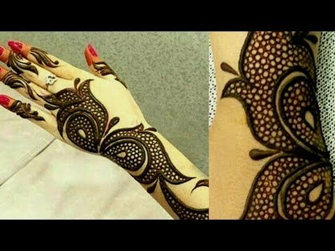 Jewellery Mehndi Design 2018 New Creation Thought Of Creation