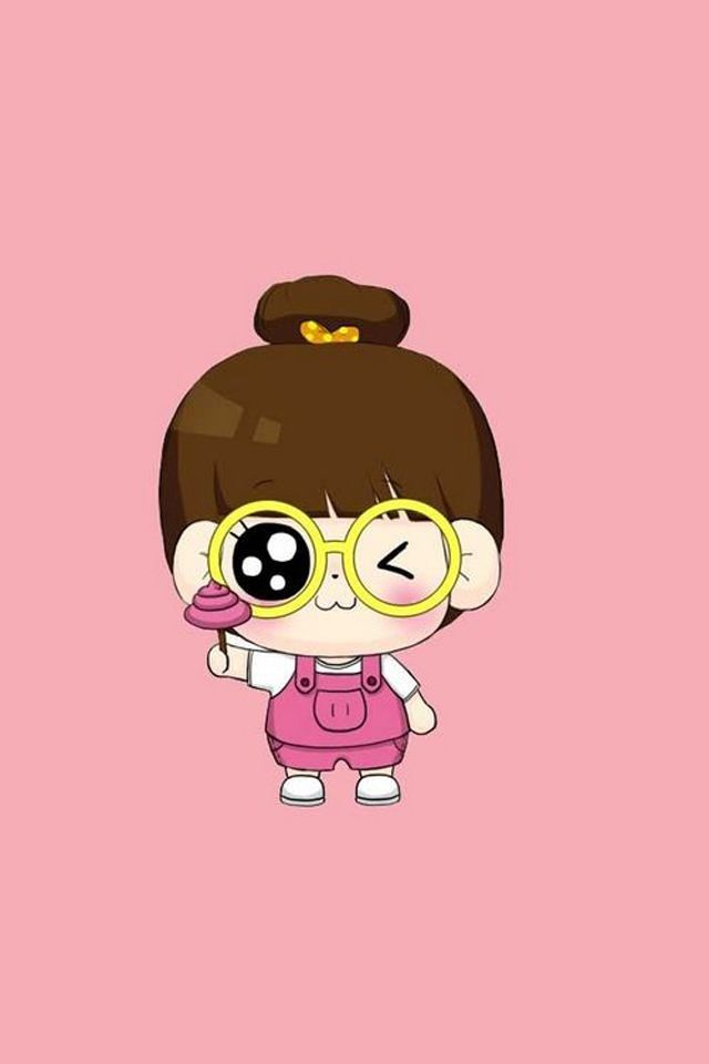 Cute Cartoon Girls Wallpapers For Mobile Iscblog Cute Cartoon Girl Cartoon Wallpaper Cute Cartoon