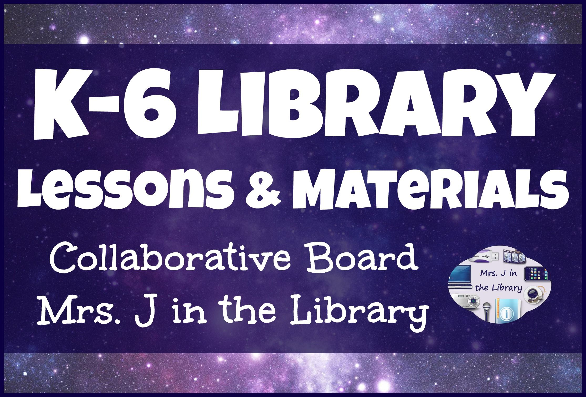 Elementary K 6 Library Lessons And Materials Collaborative Pinterest Board By Mrs J In The