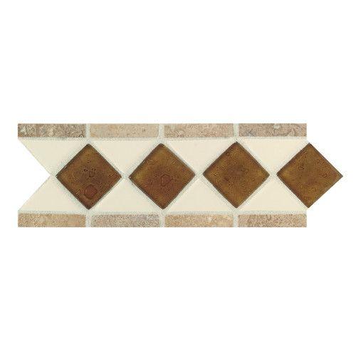 "Listellos And Decorative Tile Found It At Wayfair  Fashion Accents 11"" X 4"" Decorative Listello"