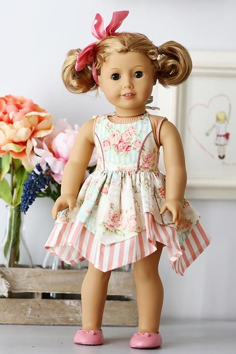 Photo of Marissa Doll Dress – Violette Field Threads