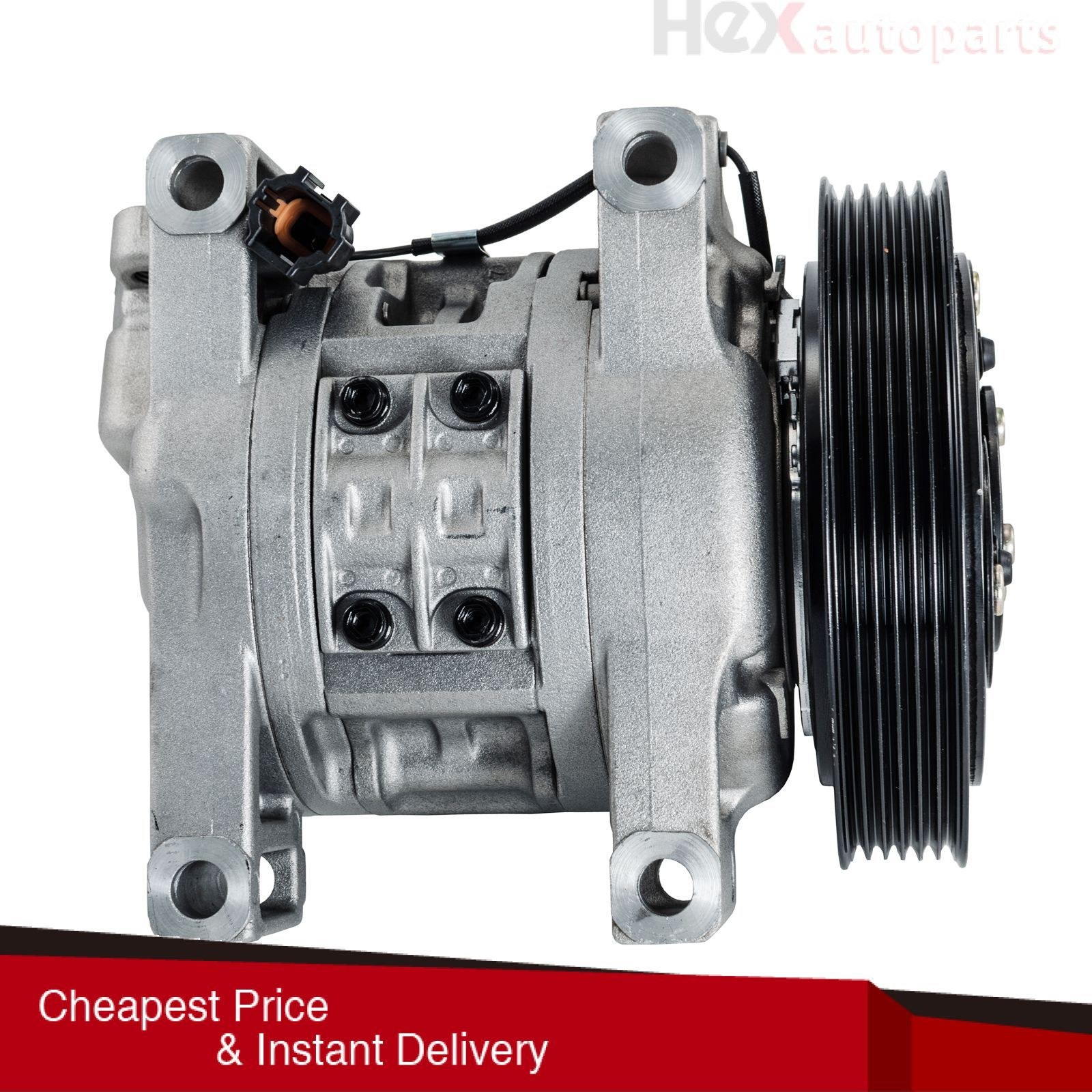 Hex AutoParts AC A/C Compressor For 20002006 Nissan