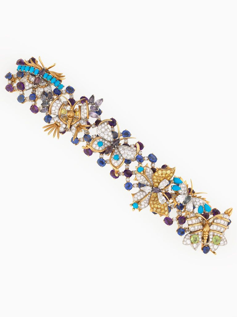 a7501737b See Bunny Mellon's 142-Piece Collection of Schlumberger Jewels ...