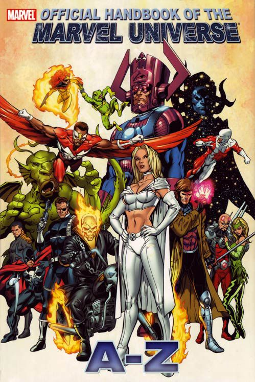 official handbook, Marvel Universe,a-z - Google Search