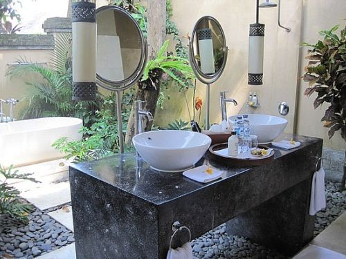 Outdoor Bathroom Vanity Design Ideas  Amazing Loos And Bathrooms Unique Design A Bathroom Vanity Review