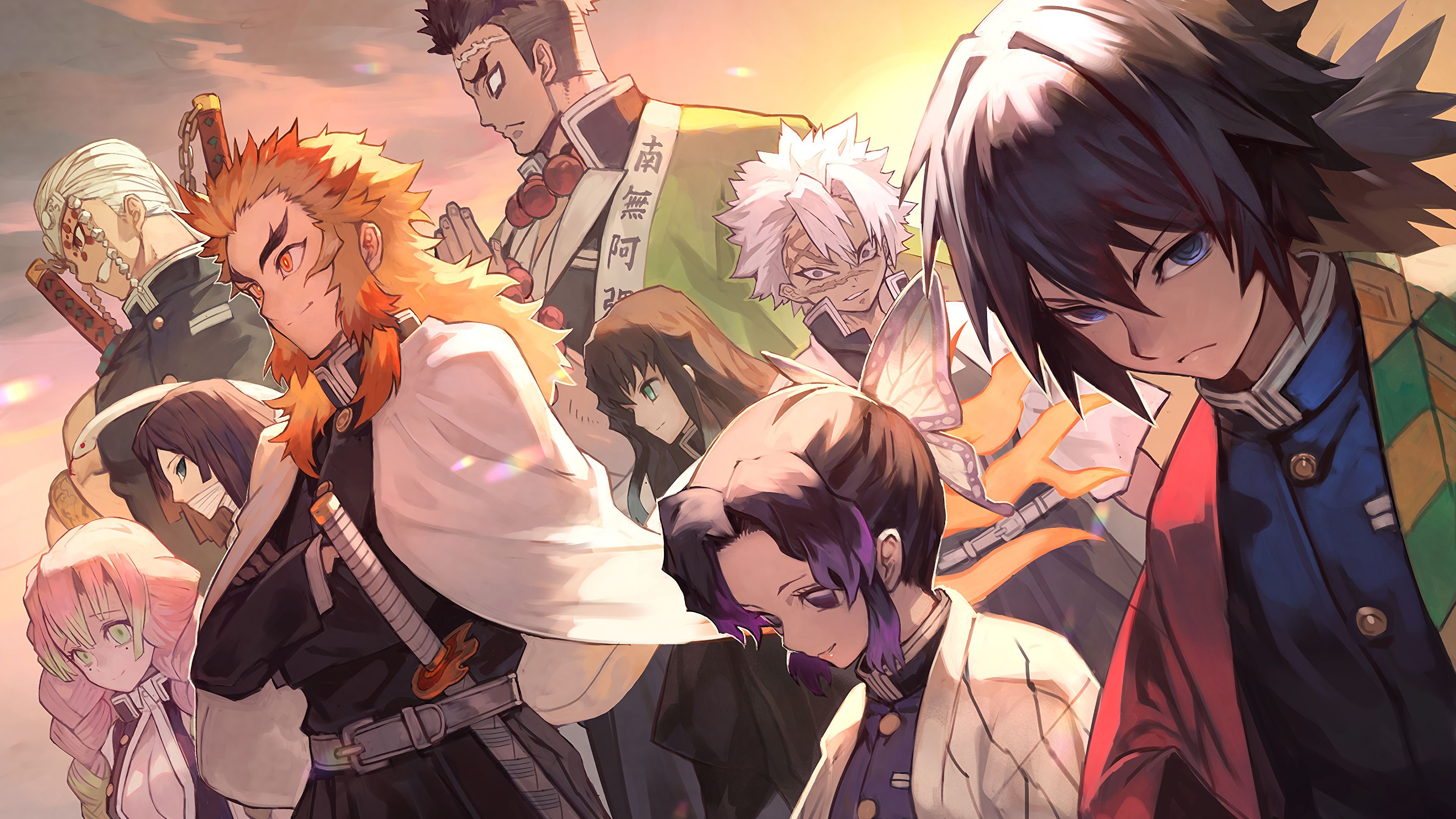 Kimetsu No Yaiba Wallpaper Di 2020 Gambar Anime Animasi Seni Anime
