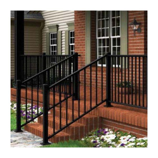 Best Prestige Aluminum Adjustable Stair Rail Kit For Metal Deck 400 x 300