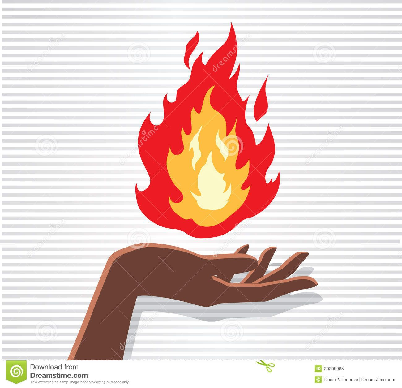 how to make fire with hands