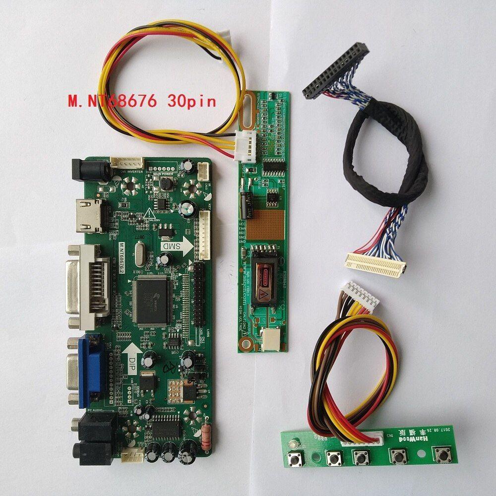 """Controller Board Kit for 1280X1024 17/""""//19/"""" LCD M170E5-L09 NT68676 HDMI+DVI+VGA"""
