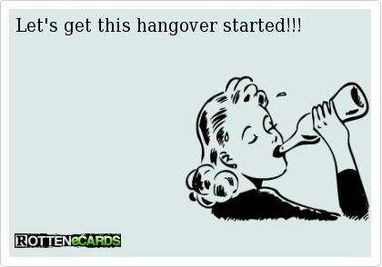 Let's get this hangover started!
