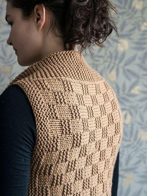 1e53e4b176086 Ravelry  Brooklin Vest pattern by Elizabeth Smith