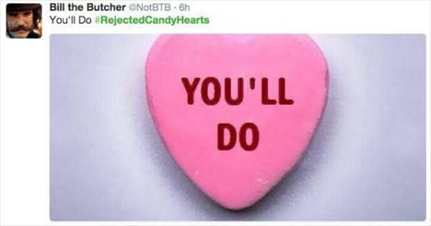 Rejected Valentine S Day Candy Hearts 16 Pics Heart Candy Valentines Funny Valentine