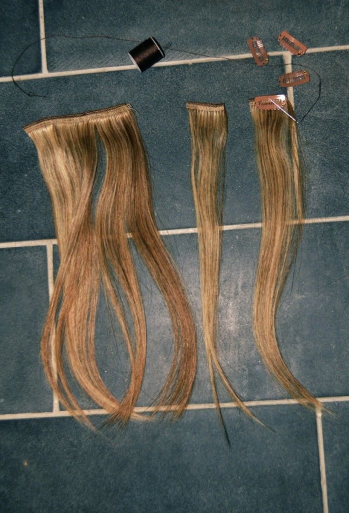Diy Clip In Hair Extensions Hair Extention Diy Hair And Hair