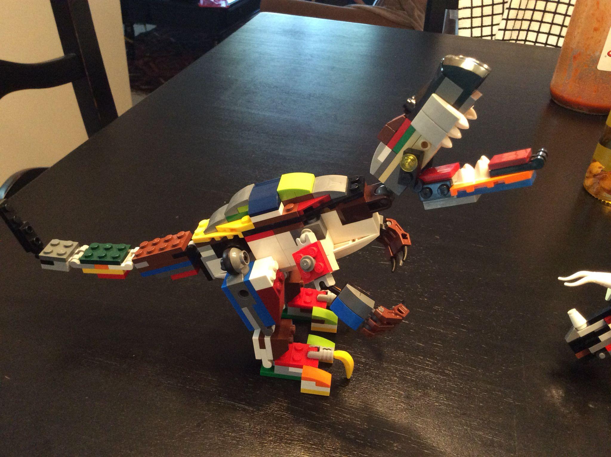 my custom lego allosaurus my personal creations pinterest