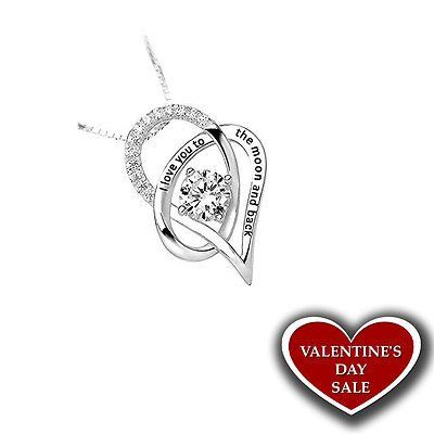 #Trending03 - Valentine's Day Gift for Her Sterling Silver Necklace I Love You Heart Pendant https://t.co/BAFzZkJGbY