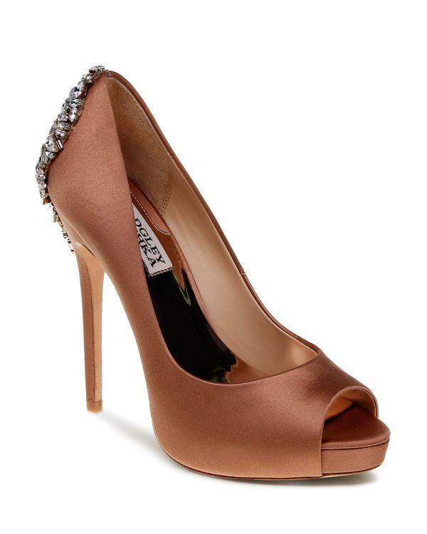 816ed5c5b5 Women's Kiara Peep Toe Satin Platform High-Heel Pumps   Products ...