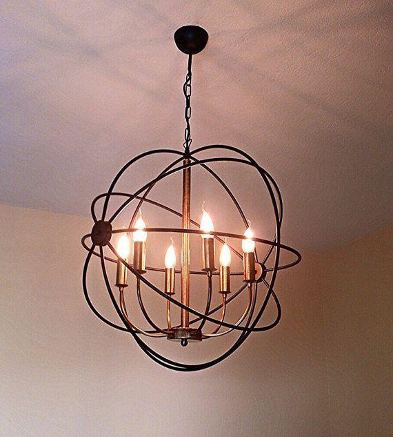 Orbit handmade pendant light chandelier edison restoration orbit handmade pendant light chandelier edison restoration industrial style chandelier aloadofball Images