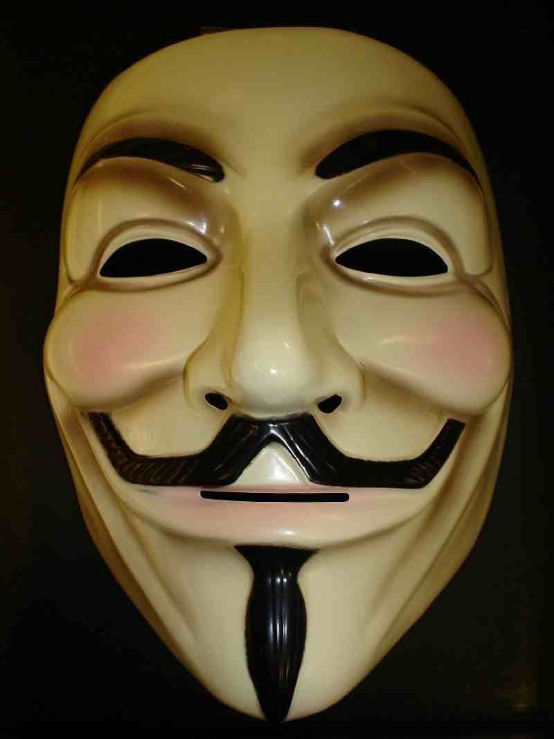 V for Vendetta Mask Anonymous Guy Fancy Costume Cosplay Face Masks