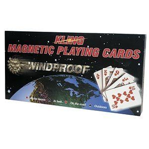 Kling Magnetic Playing Cards with magnetic board by Kling Magnetics. $48.95. magnetic Playing Cards