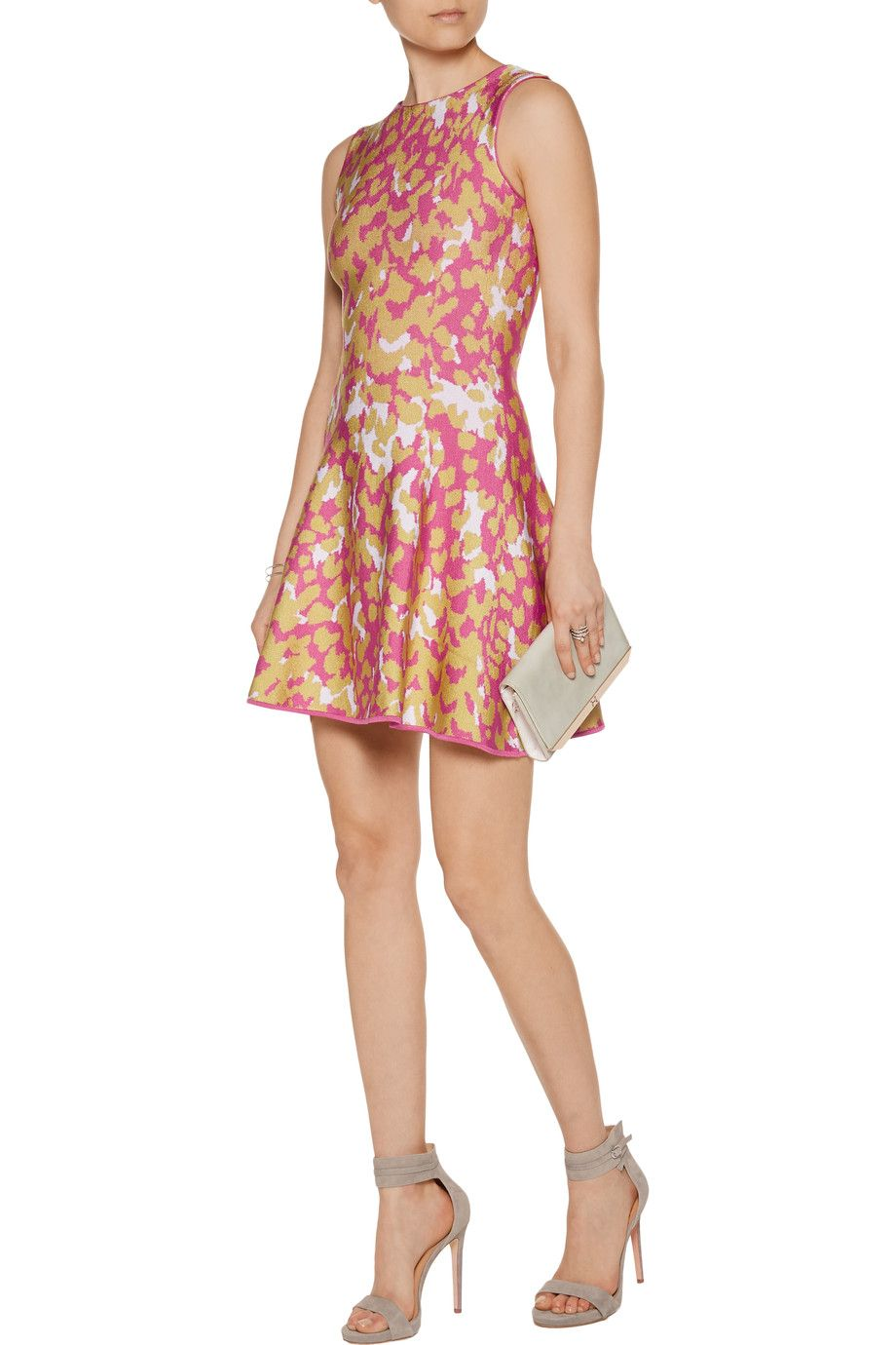 Shop on-sale Issa Marla jacquard-knit mini dress. Browse other discount designer Dresses & more on The Most Fashionable Fashion Outlet, THE OUTNET.COM