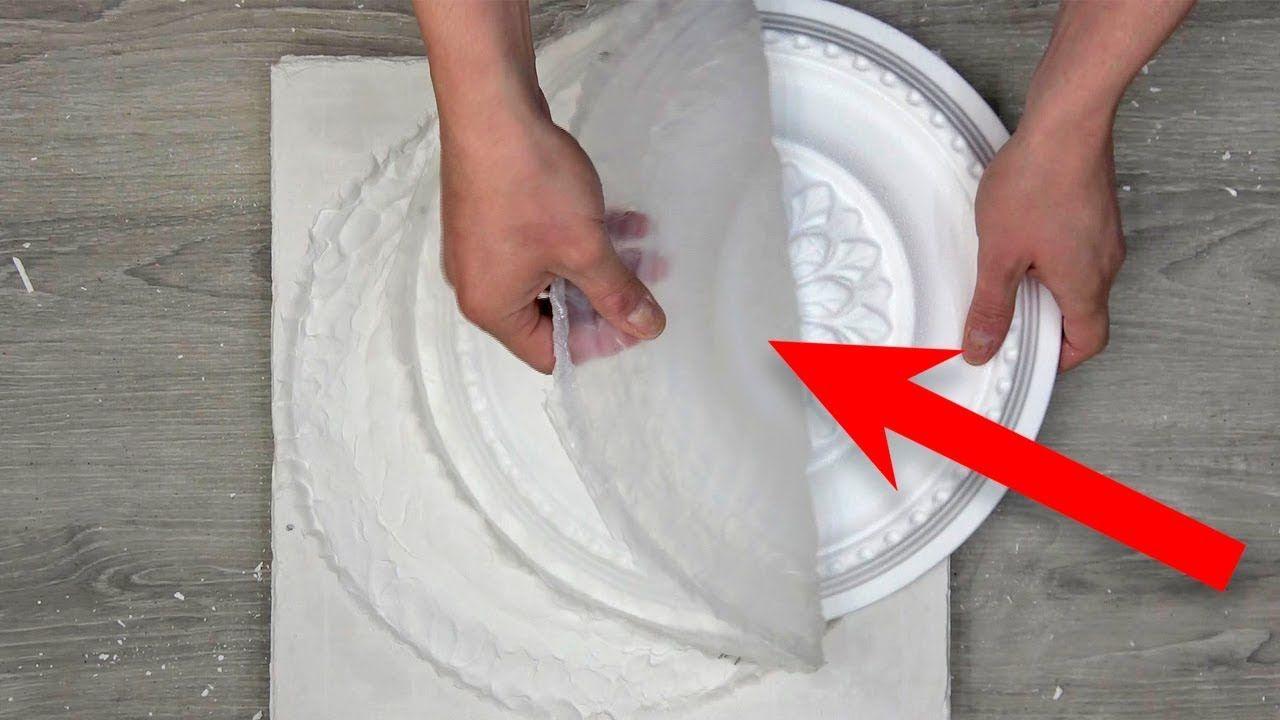 Форма из силикона для гипса своими руками
