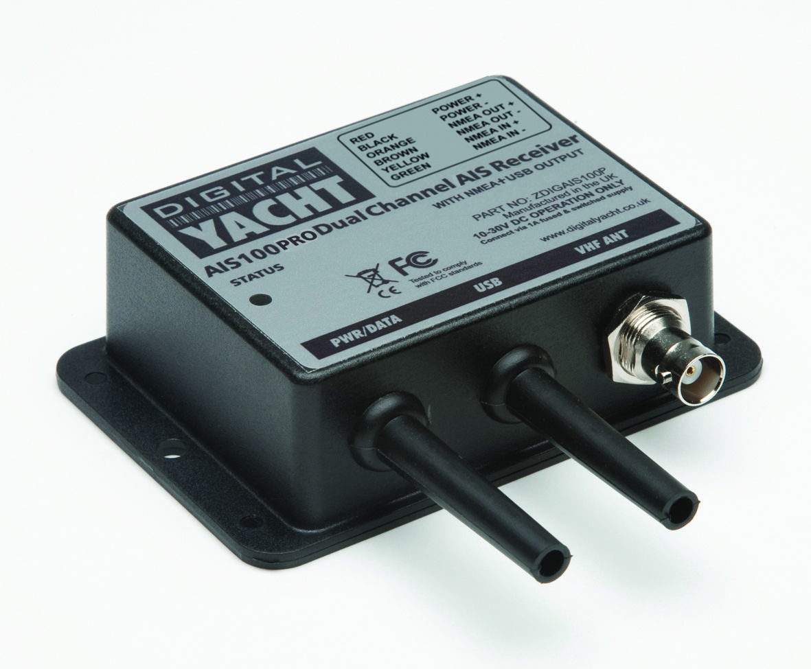 Combination NMEA and USB connections for PC and plotter based ...