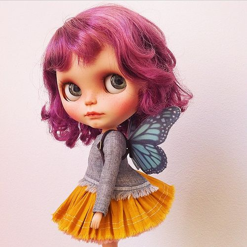 Custom Blythe Butterfly | da MforMonkey