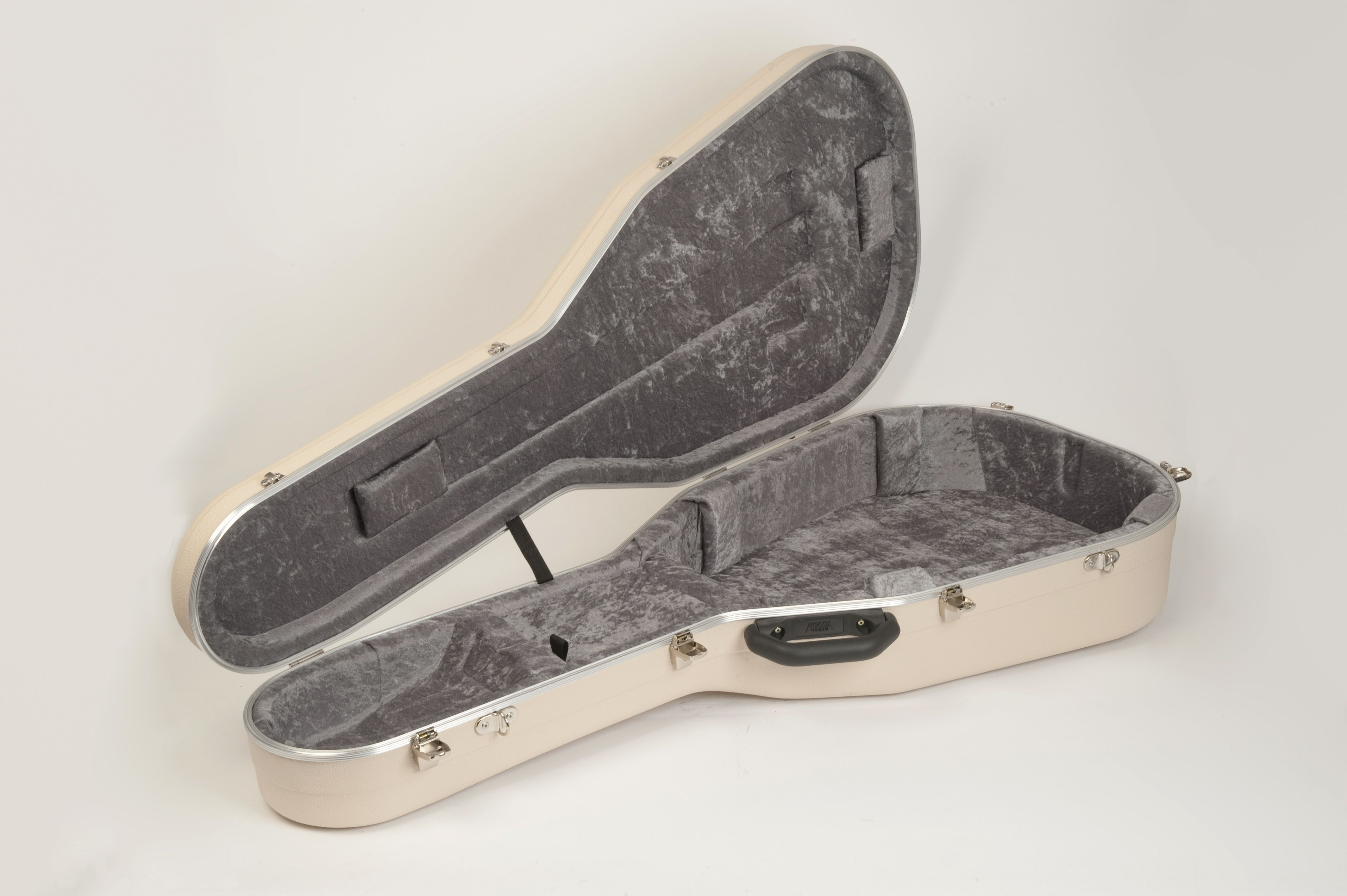 Pro Ii Dreadnaught Acoustic Guitar Case Hiscox Cases Hard Shell Case Protect Your Guitar Grey And Ivory Acoustic Guitar Case Guitar Case Case
