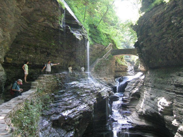 Watkins Glen Park Love This Spot Rainbow Falls State Park Best Places To Camp Cool Places To Visit