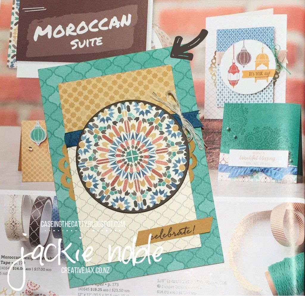 creativejax.co.nz CASEing the Catty Blog Hop CTC 86 Everyday Occasions Moroccan Thoughtful Banners 2016 June