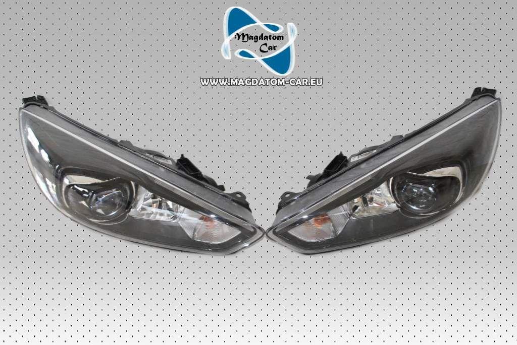 X Neu Original Black Scheinwerfer Bixenon Xenon Headlights Led Ford Focus St Mk
